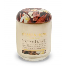 Sandalwood and Vanilla Candle