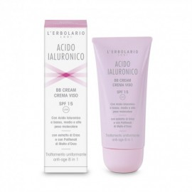 Acido Ialuronico BB Cream Crema Viso SPF 15