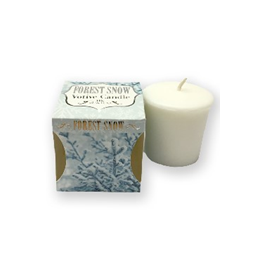 Forest Snow Candle
