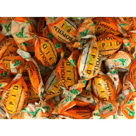 Propolis and Orange Candy